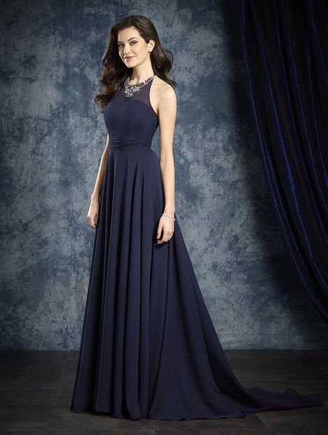 8108L gown from the 2016 Alfred Angelo : Sapphire Bridesmaids collection, as seen on dressfinder.ca