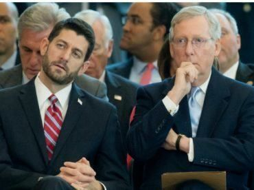 TRAITORS! GOP Lawmaker: Paul Ryan and McConnell Are Slow-Walking POTUS Trump's Agenda Because They Don't Like It (VIDEO)