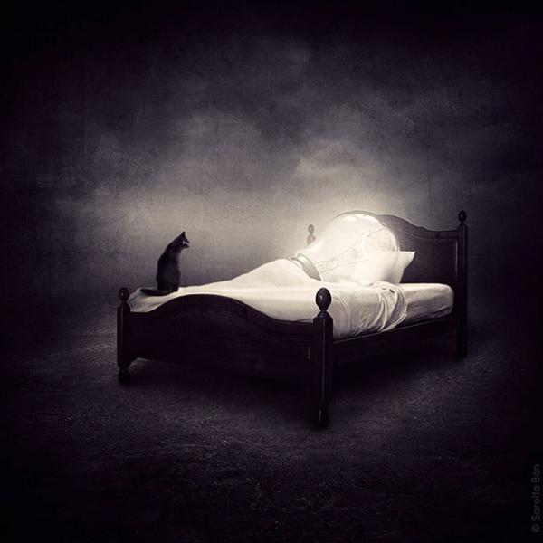 20 Manipulaciones de fotos surrealistas de Sarolta Ban