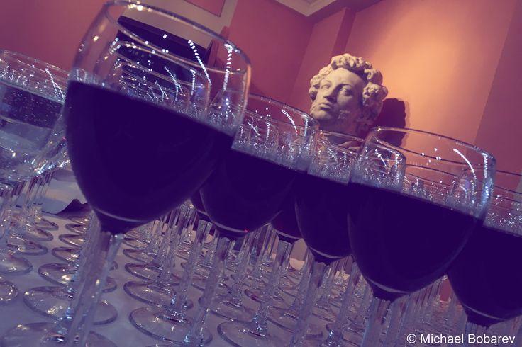 Pushwine #pushkin #wine #push #glass #goblet #art