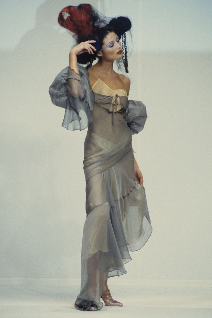 John Galliano Spring 1993 Ready-to-Wear Fashion Show