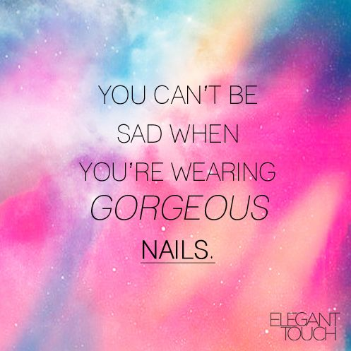 SURE CAN'T! Nail technician sayings and quotes. Nail Technician humor