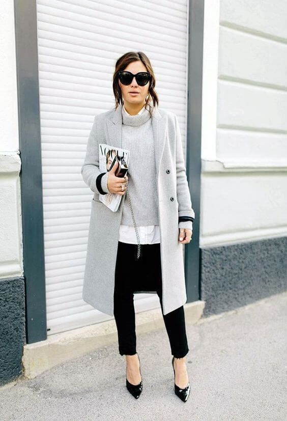 Look sharp with these work outfits for winter even when the weather isn't help…