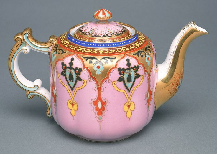 Teapot And Lid, late 19th century | Objects | Collection of Cooper Hewitt, Smithsonian Design Museum