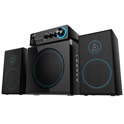 Arion Legacy Deep Sonar 300 ARDS300-BK Medium Size 2.1 PC Speakers with Subwoofers and Control Box