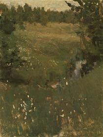 Creek - Konstantin Korovin