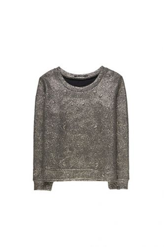 10 FEET Cute Metallic Sweater Ash - Bluser/Strik - MaMilla