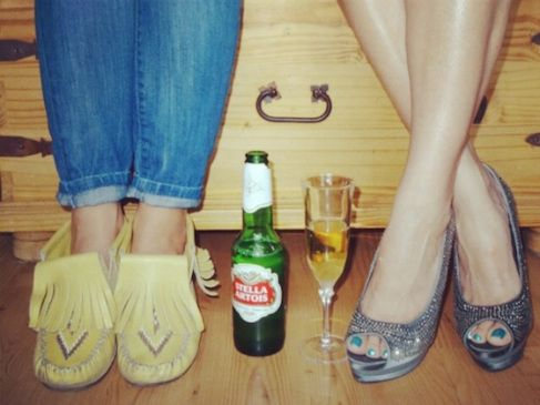 Your best girlfriends as shoes.. Are you a moccasin or a stiletto?