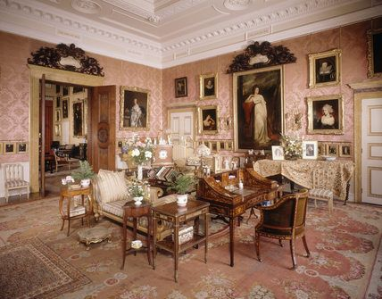The Magnificent Drawing Room At Kinston Lacy