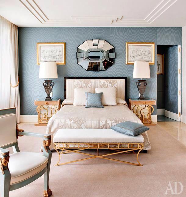 bedroom AD magazine