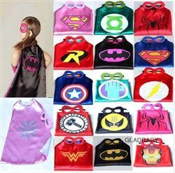 SuperHero Cape and Mask Sets