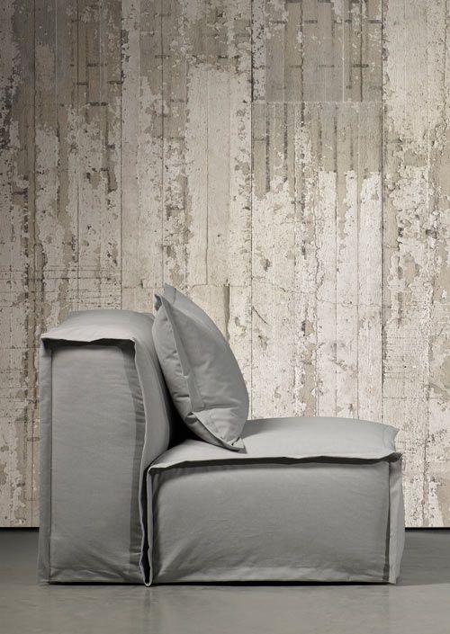 Papel de parede Concreto, Piete Boon - A Casa de Viver.
