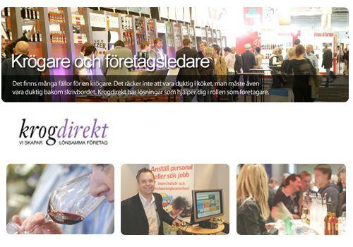 Krogdirekt - Arbeta med försäljning och rådgivning inom restaurangbranschen.