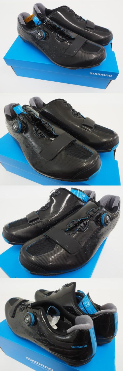 Men 158986: New! Shimano Xc Mtb Mountain Cycling Shoes Black Blue Size 11.2 Us, 46 Eu -> BUY IT NOW ONLY: $134.99 on eBay!