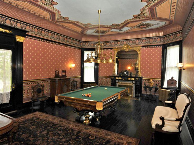 If I had a billiard room...