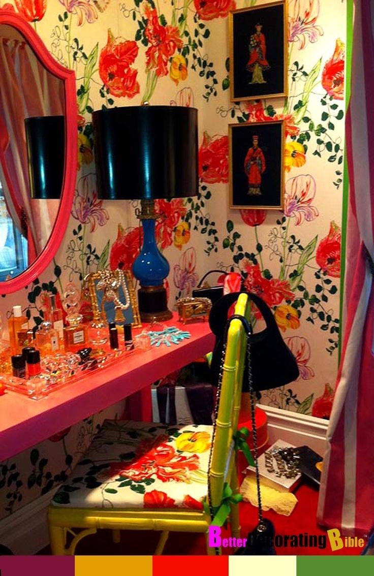 #Gypsy #boho #vanity #decor