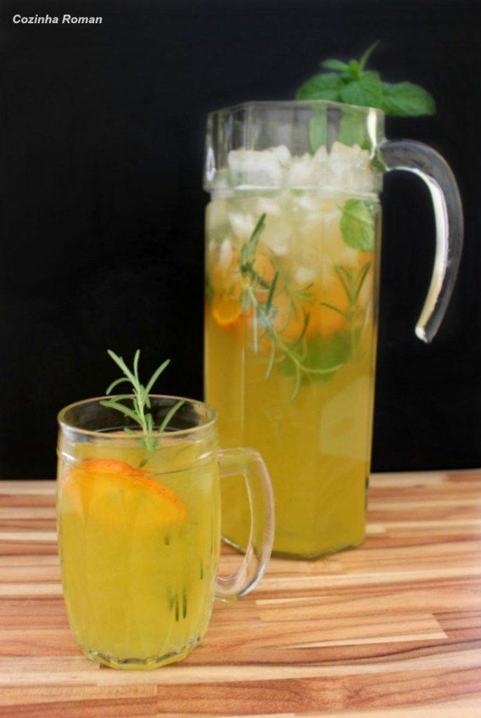 Limonada de romero, todavía haciendo las paces con limones   – Receita de sucos