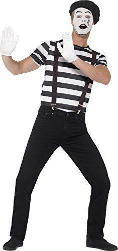 Herren Pantomime Kostüm ca 29€| Kostüm-Idee zu Karneval, Halloween & Fasching