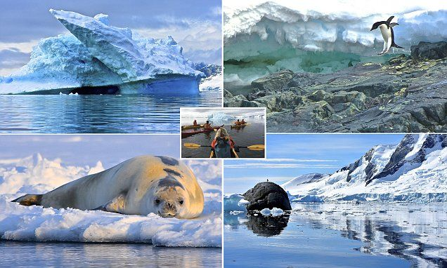 The ice blue planet! A pilgrimage to the Antarctic Circle