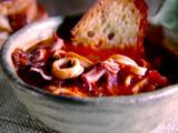 Picture of Calamari Stew with Garlic Toast Recipe