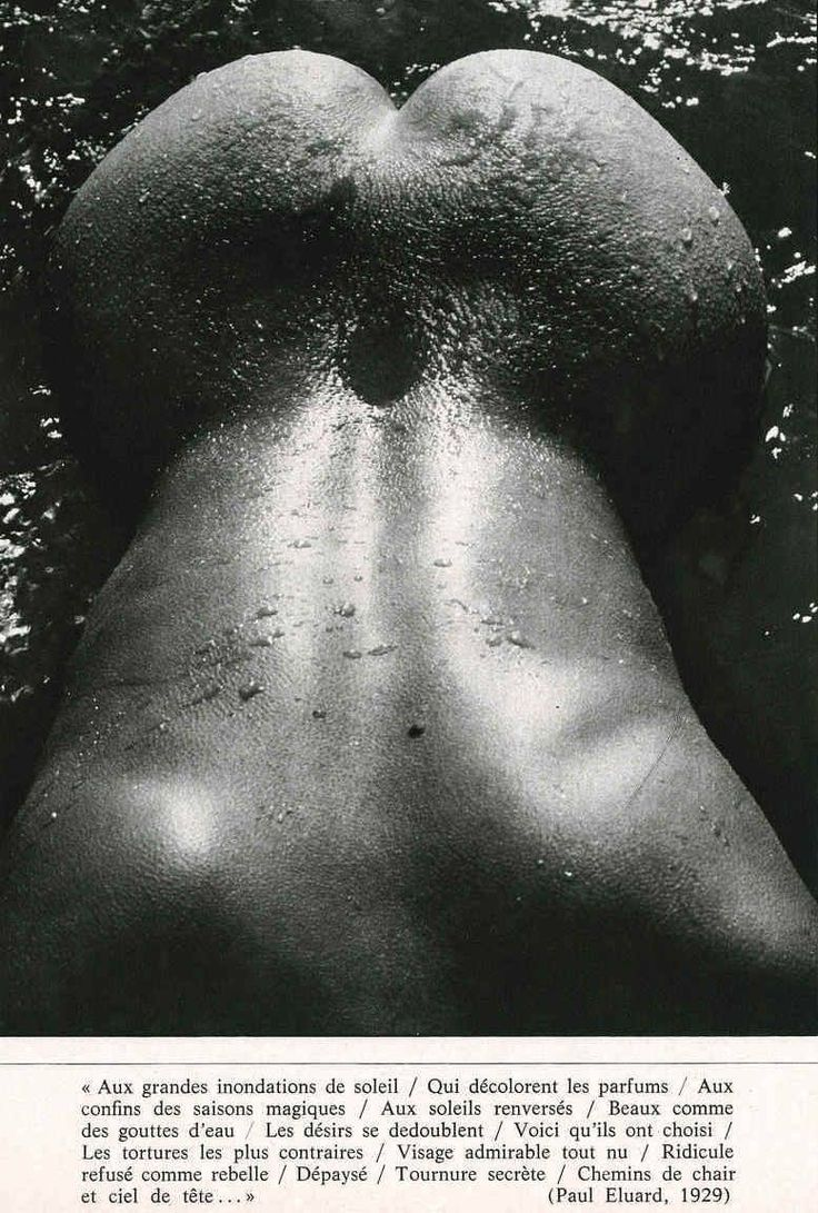 Magical season, from Playmen, July 1972, by Lucien Clergue