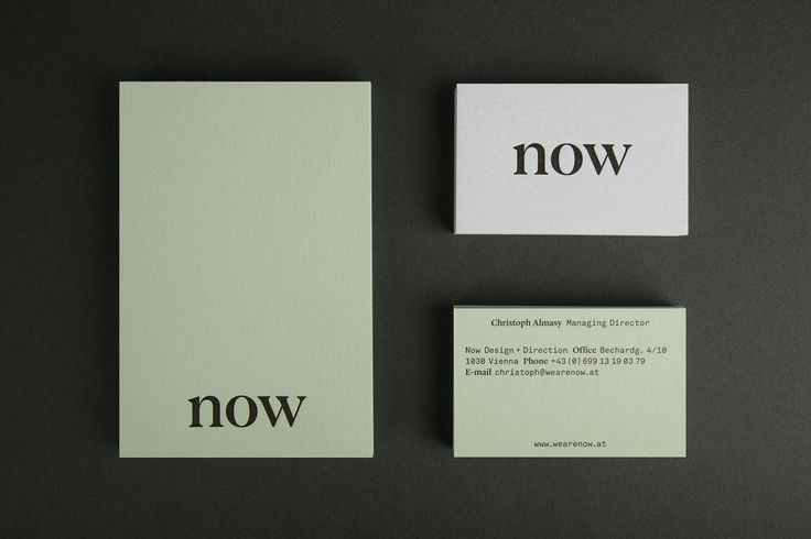 Paul Leichtfried › Now Design + Direction