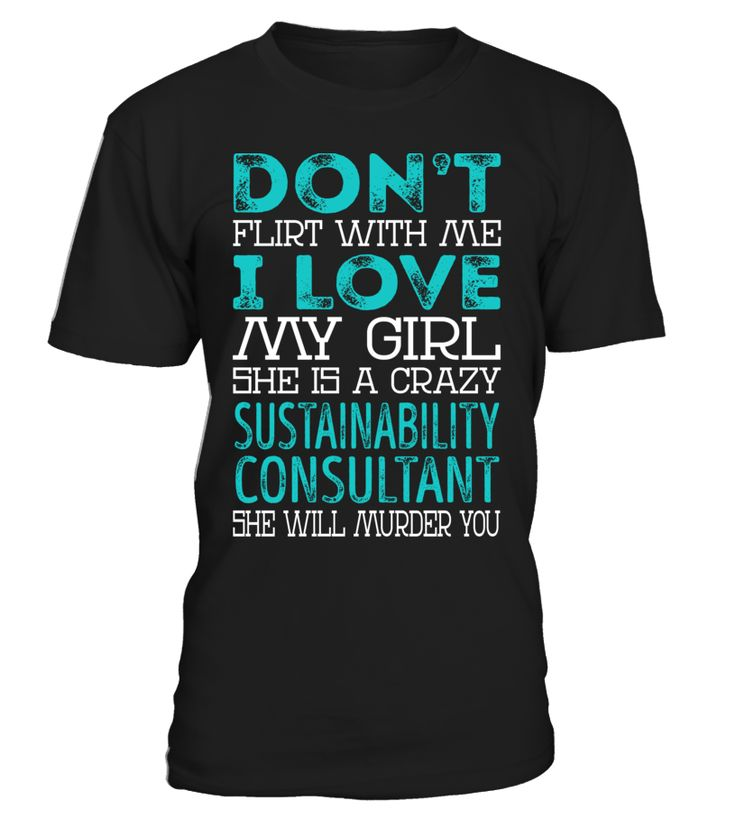 Sustainability Consultant - Crazy Girl #SustainabilityConsultant