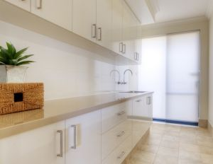 Your laundry doesn't need to be traditional, Room Four will custom design your new laundry to make the most of the latest trends in laundrie...