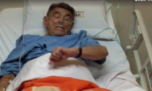 Héctor Suárez cancela show por accidente