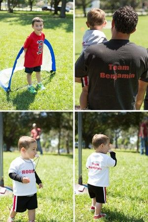 All-star sports theme birthday party! So many great ideas for a sports party!