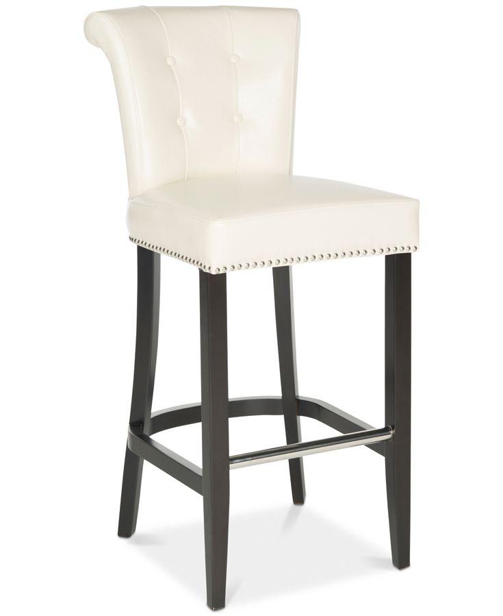Safavieh Anakin Bar Stool & Reviews   Furniture   Macy's ...