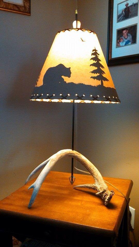 Best 25+ Antler lamp ideas on Pinterest   Elk horns, Deer ...