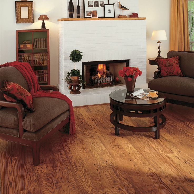 Rustic Chestnut 8MM Underlayment Attached Flooring