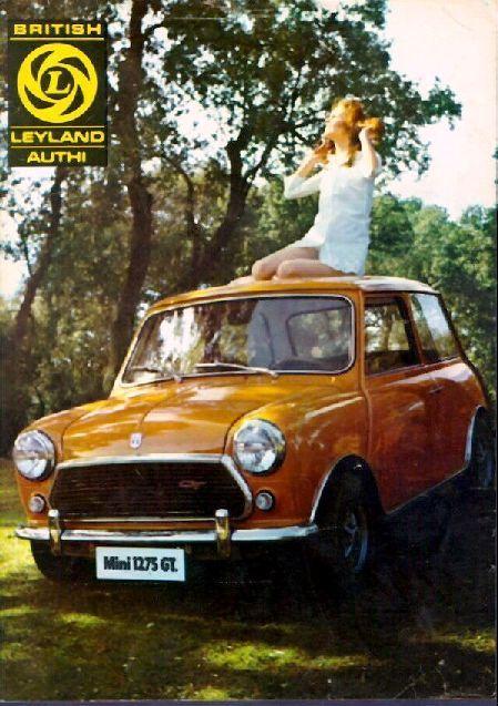 Mini 1275 GT by Leyland - brochure