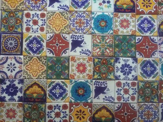 Piastrelle di Talavera messicana x 100 x 5 cm di theheartofmexico