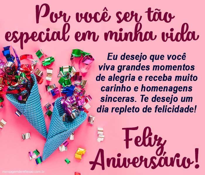 Mensagem De Aniversario Para Alguem Especial Feliz Aniversario