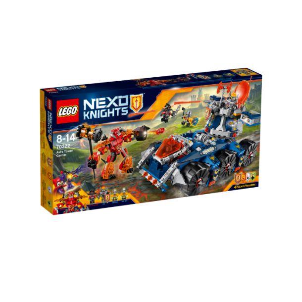 Lego Nexo Knight 70322 Axls Tårnbærer