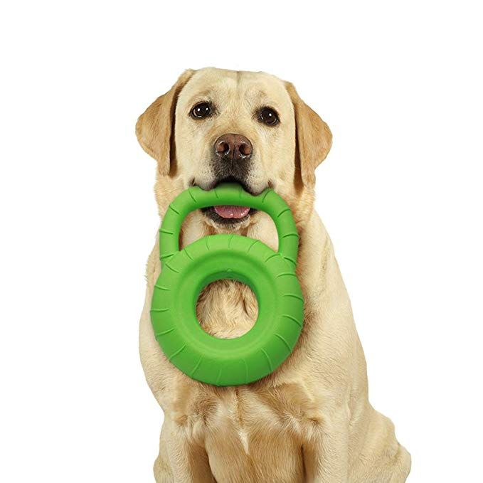 Palmula Dog Chew Toy Tyre Shape Dog Floating Toy With Strong