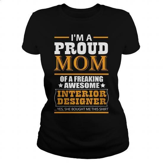 INTERIOR DESIGNER - #college sweatshirts #t shirt companies. CHECK PRICE => https://www.sunfrog.com/LifeStyle/INTERIOR-DESIGNER-115343093-Black-Ladies.html?60505