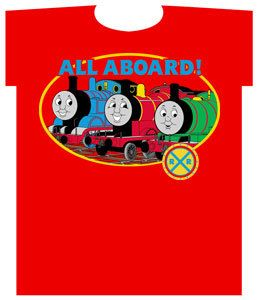 Thomas & Friends: All Aboard Red T-Shirt (Size 2T)