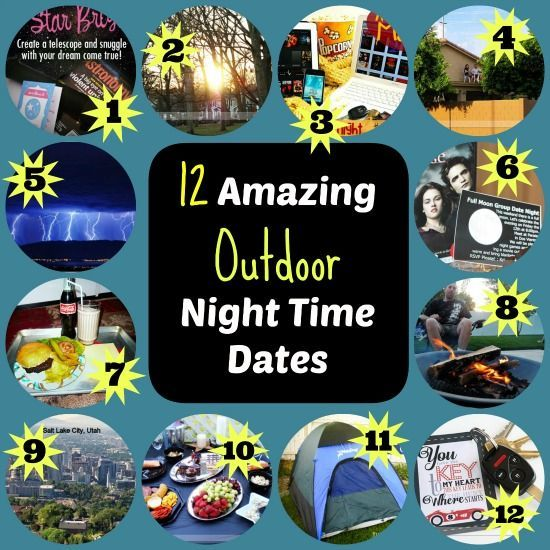 12 Amazing Outdoor Night Time Dates from TheDatingDivas.com #dateideas