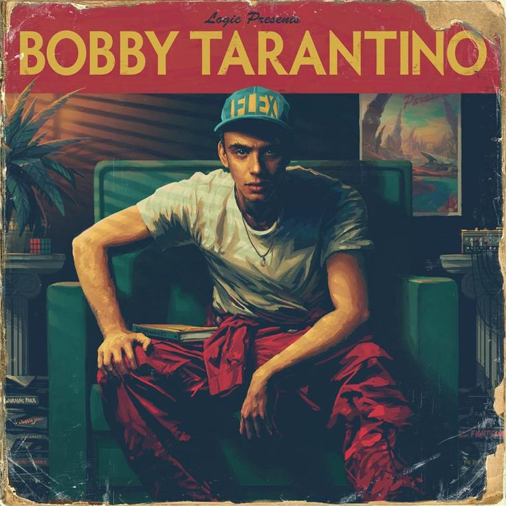 Logic Lets Loose, Has Fun On 'Bobby Tarantino'