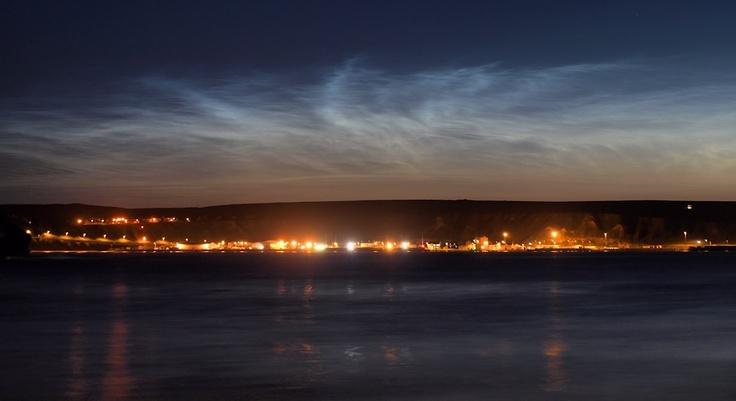 Noctilucent Clouds  Taken by Gordon Mackie on July 24, 2012 Thurso, Scotland, UK