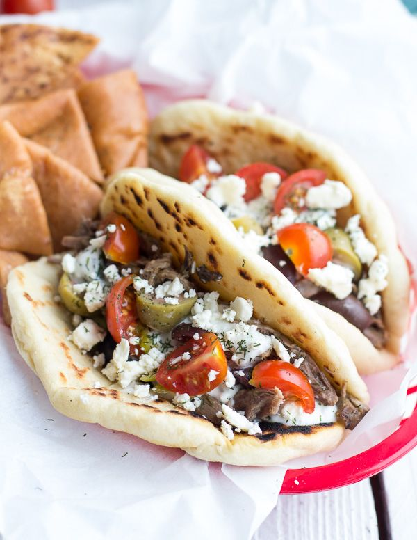 ... Gyros, Traditional Gyros, Easy Traditional, Greek Food, Greek Gyros 8