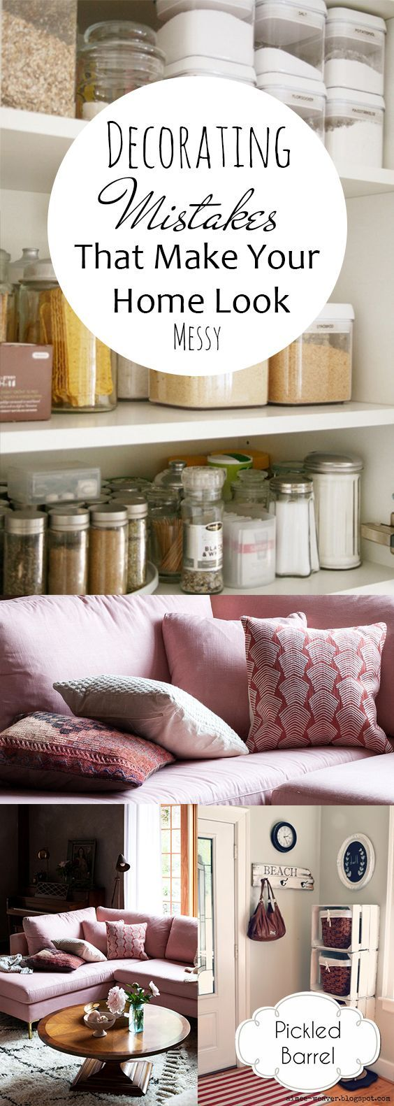 Decorating Mistakes That Make Your Home Look Messy
