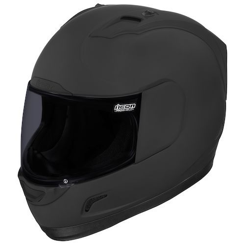 Icon Alliance Dark Helmet - @RevZilla
