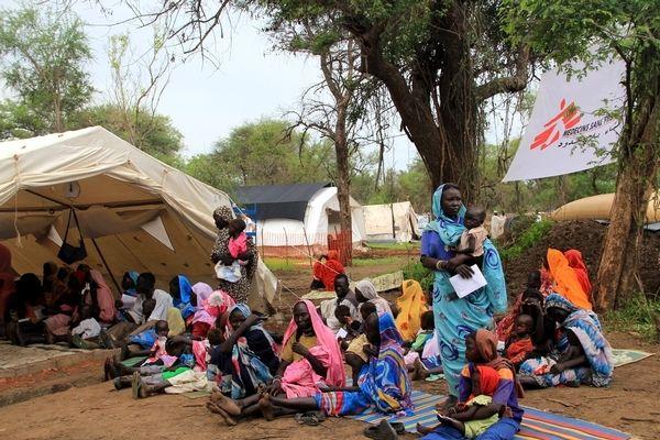 Las tasas de mortalidad y desnutrición en dos campos de refugiados de Sudán del Sur alcanzan niveles catastróficos