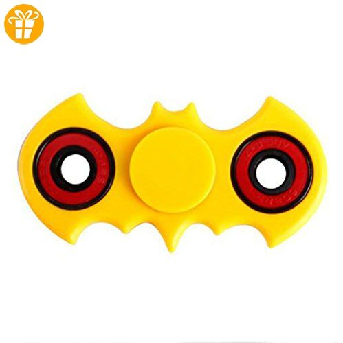 LOVE STUDIO,Bat Finger Gyro Hand Fidget Spinner Dreieck Finger Gyro  Dekompression Spielzeug Anti Rust