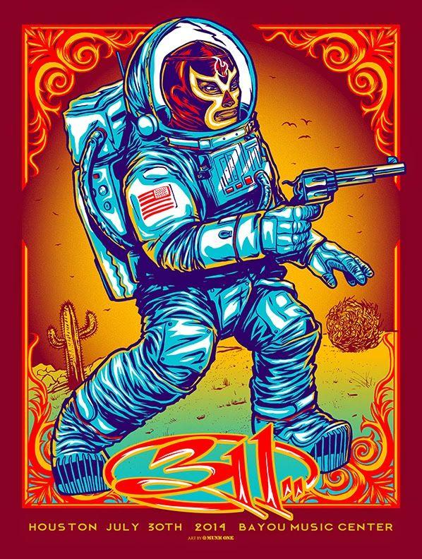 311 Munk One Houston & Dallas Posters World Premiere Exclusive