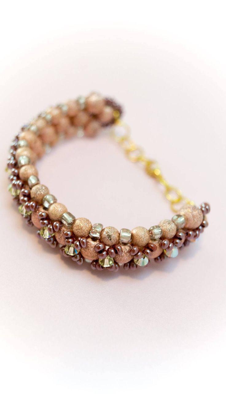 Excited to share the latest addition to my #etsy shop: Bracelet 8 http://etsy.me/2CS2ABf #jewelry #bracelet #copper #brown #no #women #womanbracelet #handmadebracelet #fashionbracelet